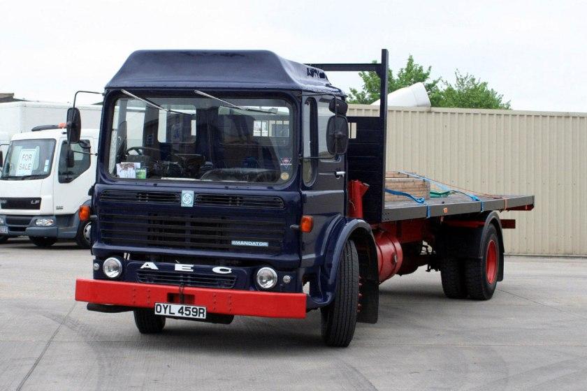 1965-1978 AEC » Mandator ( model TG4 ) i
