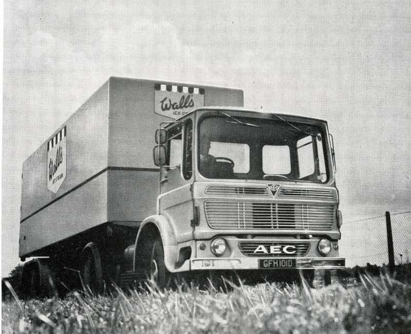 1965-1978 AEC » Mandator ( model TG4 ) m