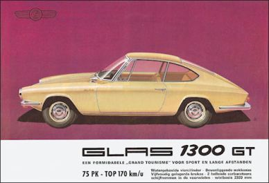 1965 glas 1300 gt coupe