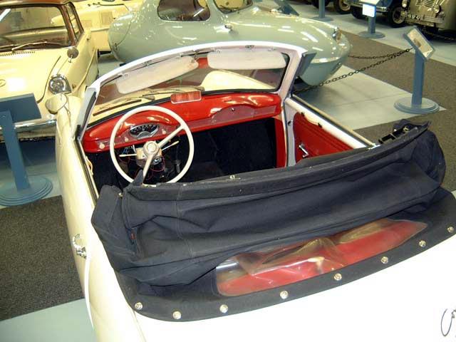1965 Glas Goggomobil Cabriolet open (D)