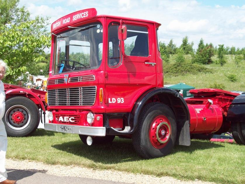 1966 AEC Mandator TG4R Tractor Unit Engine 12473cc ECL 142 D