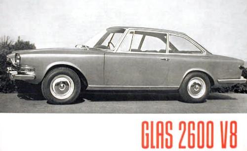 1966 glas 2600 v8