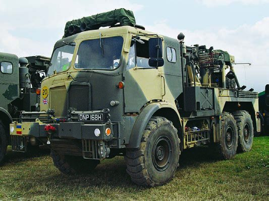 1967 AEC Militant О870 Mk-III (FV-11044), 6x6