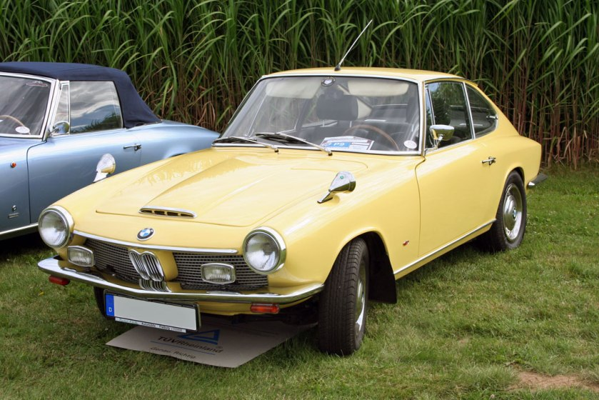 1967 BMW 1600 GT Coupé The year that is was not a Glas anymore but a BMW