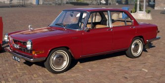 1967 Glas 1700 Dutch licence registration AL-90-04 pic2