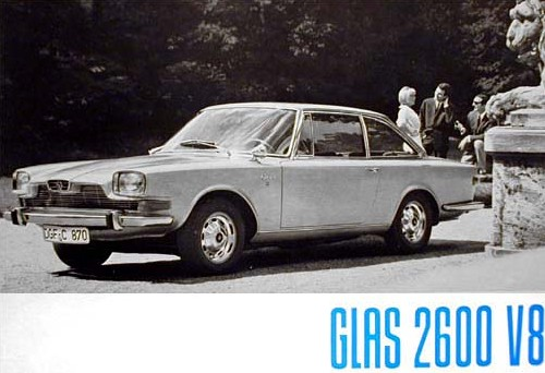 1967 glas 2600 v8