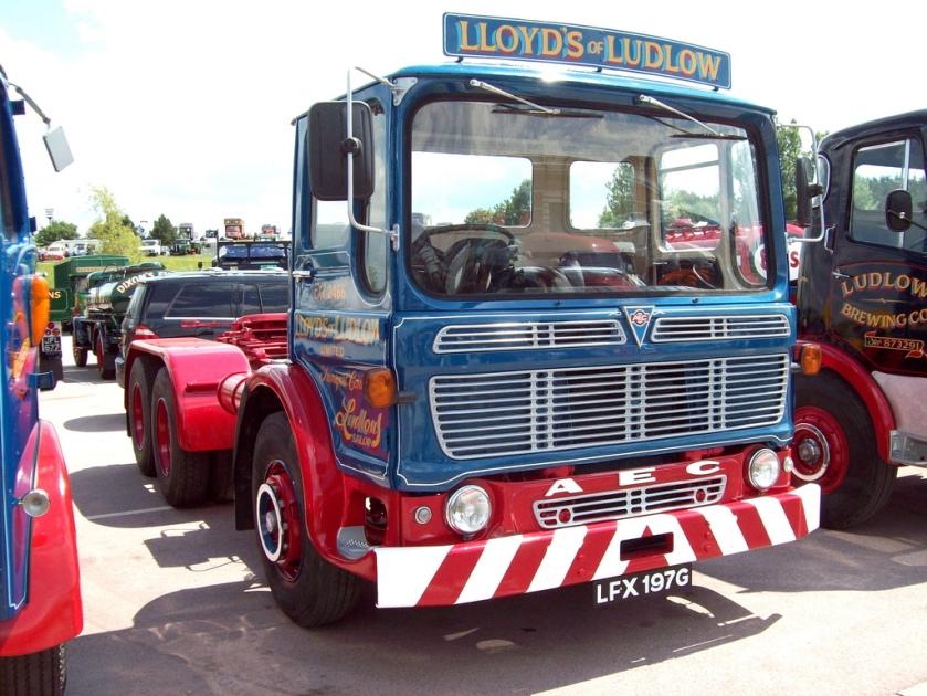 1969 AEC Mandator Tractor Unit LFX 197 G