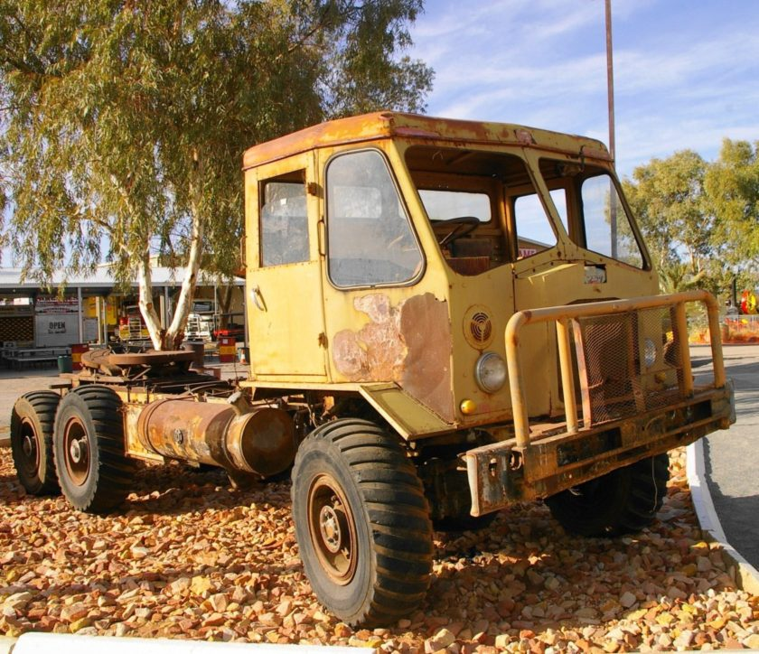 1970's Aec Mandator 6X6 Donated By Motor Vehicle Enthusiasts Club Darwin This Range Was Available In Australia Up To The Mid 1970S