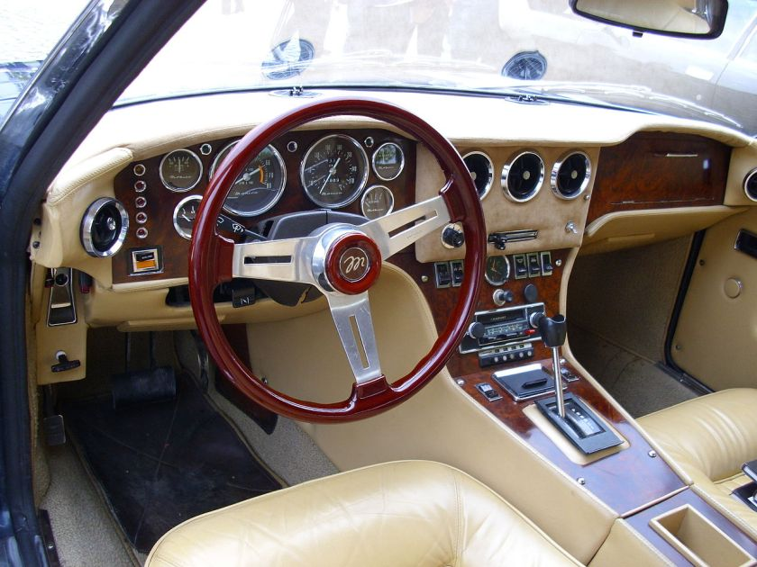 1973 Monica 1973 Interieur