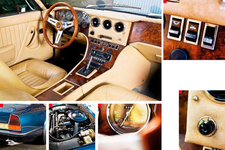 1973 Monica 560 interior