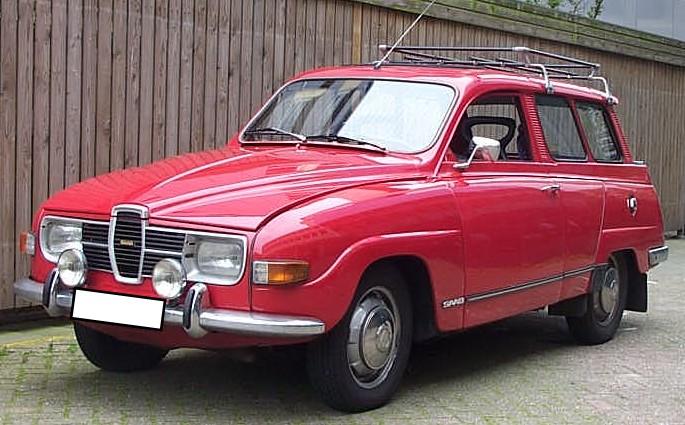1974 Saab 95 V4