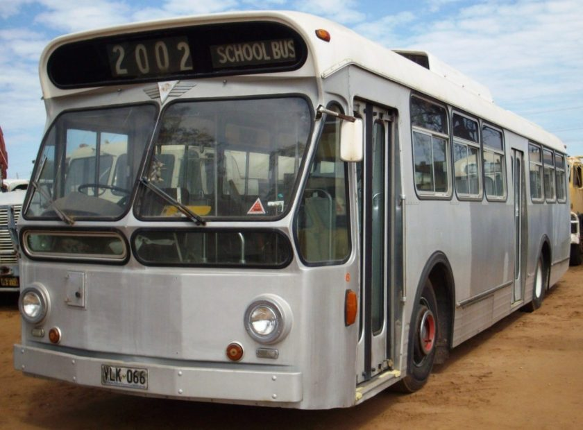 1978 Aec Swift Bus Powered By An Aec 760 Engine It Closely Resembled The Leyland Panther Donated By Port Pirie Bus Service