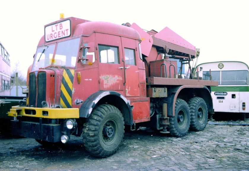 1983 AEC Recovery Truck Photo