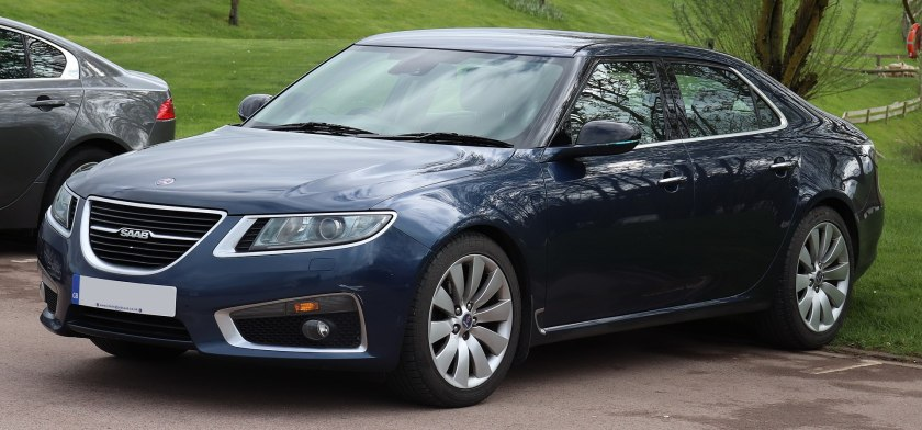 2012 Saab 9-5 Aero Turbo4 Automatic 2.0 Front