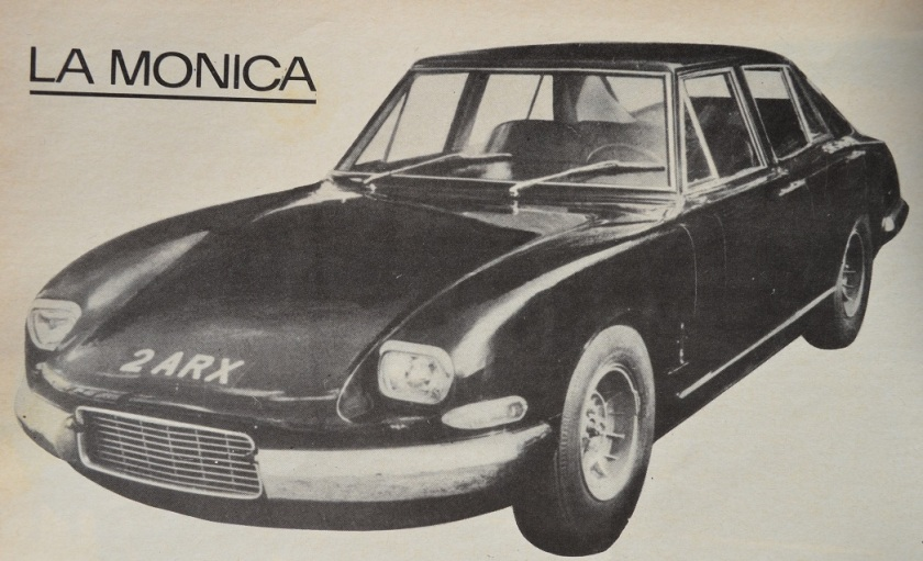 A look at the Monica 560, the last French super-sedan