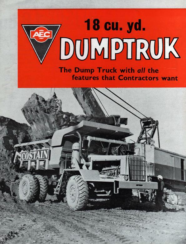AEC 18 Cubic Yard Dumptruk