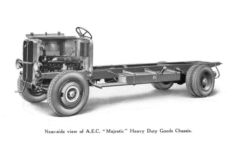AEC 666 Majestic 2 AEC Majestic, model 666