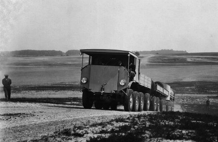 AEC 8x8 goverment roadtrain 10478a