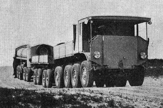 AEC 8x8 goverment roadtrain 10479