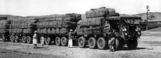 Aec Arrives In Alice Springs With A Load Of Wool From Macdonald Downs-this-is-possibly-its-last-load-for-the-government