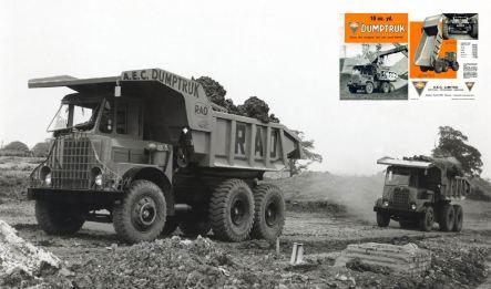 AEC Dumptruck 10 cu yd ( model 3673M )