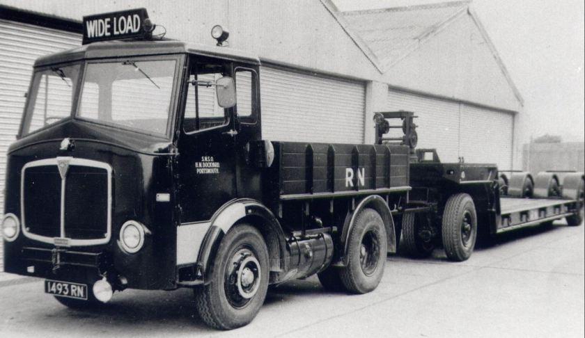 AEC Mandator 10Ton 4x2 Tractor (1493RN)