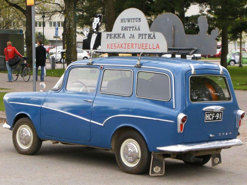 Glas Isar station wagon Finland