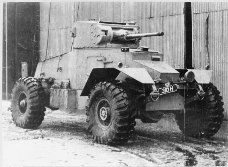 IWM-STT-1438-AEC-Armoured-Car Mk I