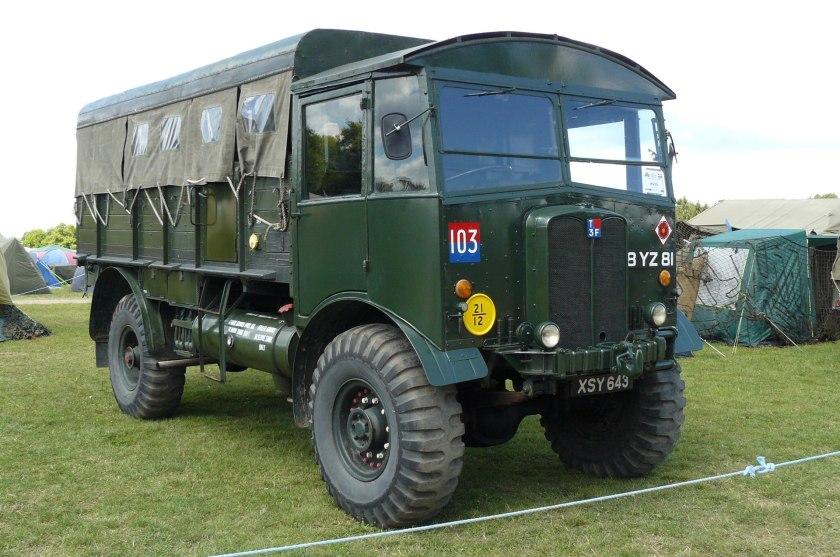 Matador artillery tractor