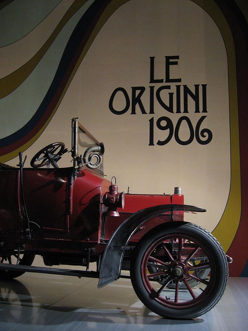 1906 Alfa romeo De 8-10 HP van Alfa's voorganger SAID