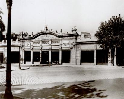 1906 Sede de la firma Abadal en el número 17 de la plaza Letamendi de Barcelona
