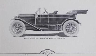 1911 Abbott Detroit 44 4dr 0,5T