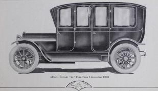 1911 Abbott Detroit Motor Co 44 4dr Limousine