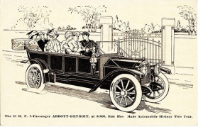 1912 Abbott-Detroit 7-Passenger Touring Car