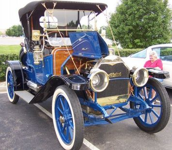 1912 Abbott-Detroit Blue