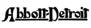 1912 Abbott-detroit logo in letters