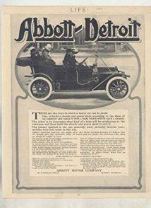 1912 Abbott-Detroit Motor Company Ads a