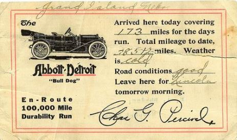 1912 Abbott Detroit