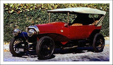 1914 Abadal 18 24 HP 2 Spain