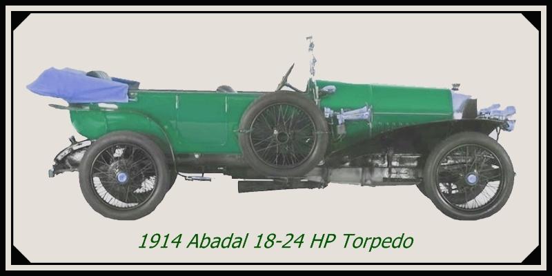 1914 Abadal 18-24 HP Torpedo
