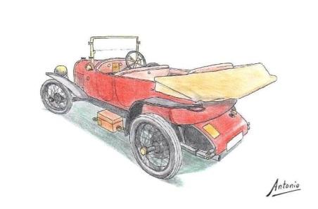 1914 Abadal 45 HP Torpedo