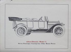 1914 Abbott-Detroit Model I