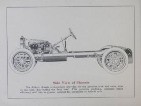 1914 Abbott-Detroit side view of Chassis
