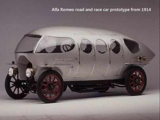 1914 Alfa Romeo road and race car