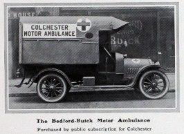 1915 Bedford ambulance