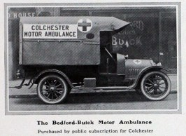 1915 Bedford ambulance