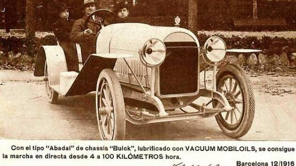 1916 Abadal Buick 4-libro