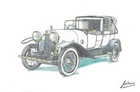 1920 Abadal-Buick Coupé de Ville Cabriolet