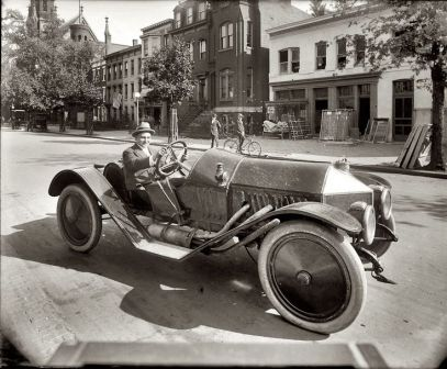 1920 Abbott-Detroit roadster Michigan History