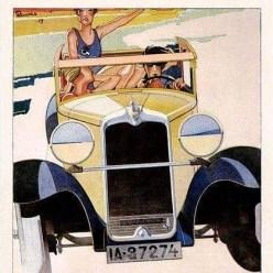 1920 Alfa tekening